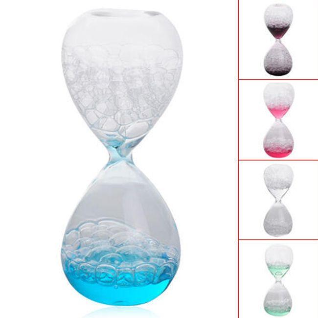 Dekorativní bublinkové překapávací hodiny 1