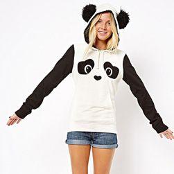 Женский свитшот с рисунком панды