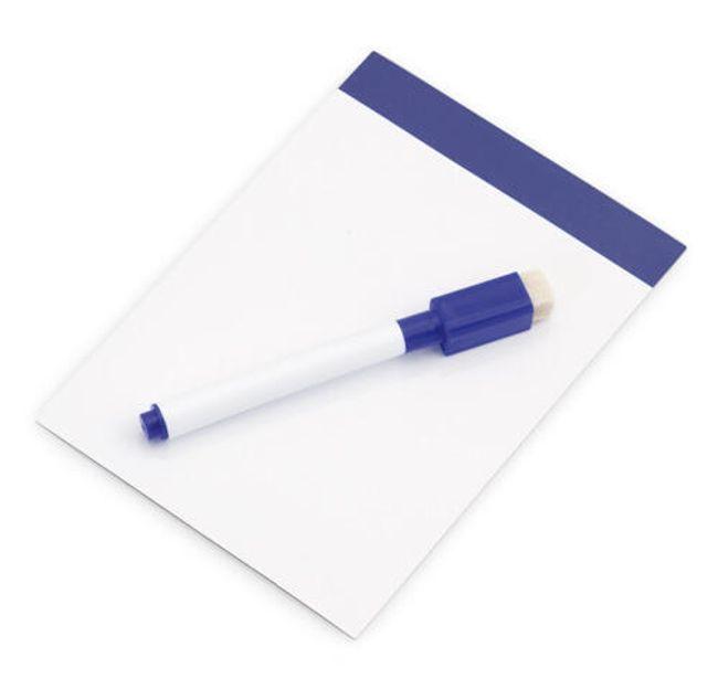 Kis mágneses tábla üzenetekhez - kék 1