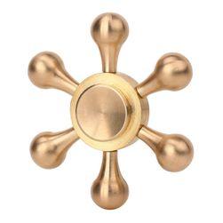 Šesterokraki metalni fidget spinner
