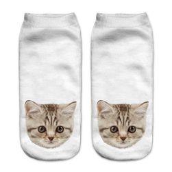 Čarape gležnjače s motivima mačaka