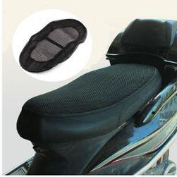 Prodyšný potah na sedlo motorky