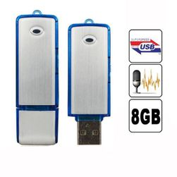 2v1 8GB USB flashdisk a diktafon