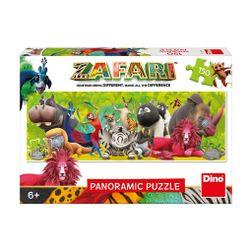 Puzzle 150 dílků Zafari - přátelství RZ_393295