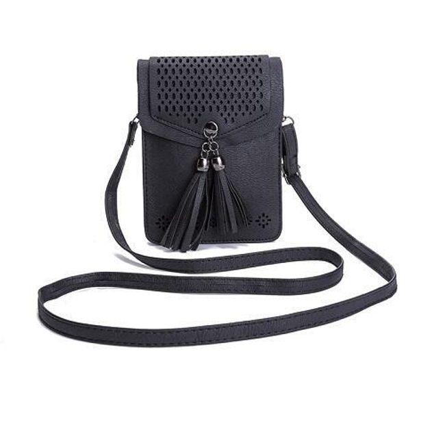 Mini taška se střapci - 4 varianty 1