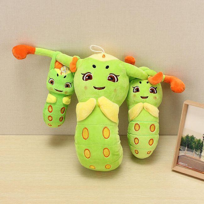 Мягкая игрушка, Гусеница- 3 варианта размера 1
