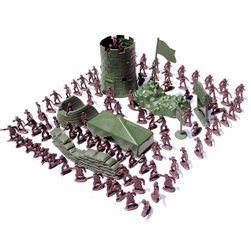 Комплект пластмасови войници - 100 бр