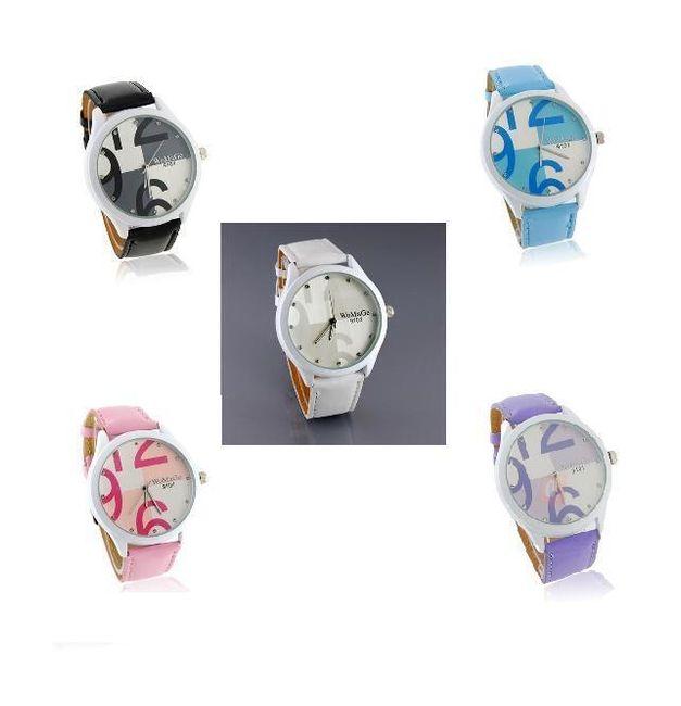 Dámské náramkové hodinky zdobené kamínky - na výběr z pěti barev 1