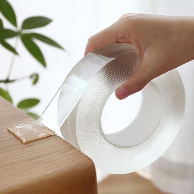 Oboustranná lepicí nano páska Shawn 1