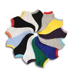 Șosete de vară pentru bărbați în diferite culori - 10 perechi