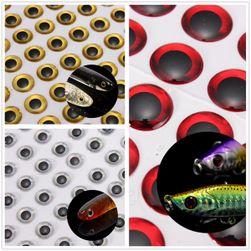 Naklejki rybie oczy 3D 100 szt. - 3 kolory