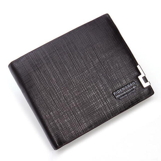 Elegantní pánská peněženka - tmavě kávová 1