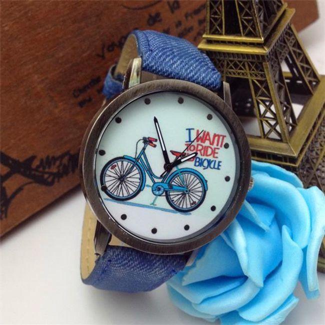 Vintage ura s sliko kolesa 1