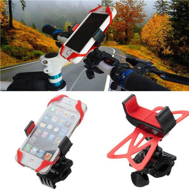 Univerzális mobiltelefon tartó kerékpárhoz 1