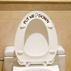 Наклейка для туалета JKM6