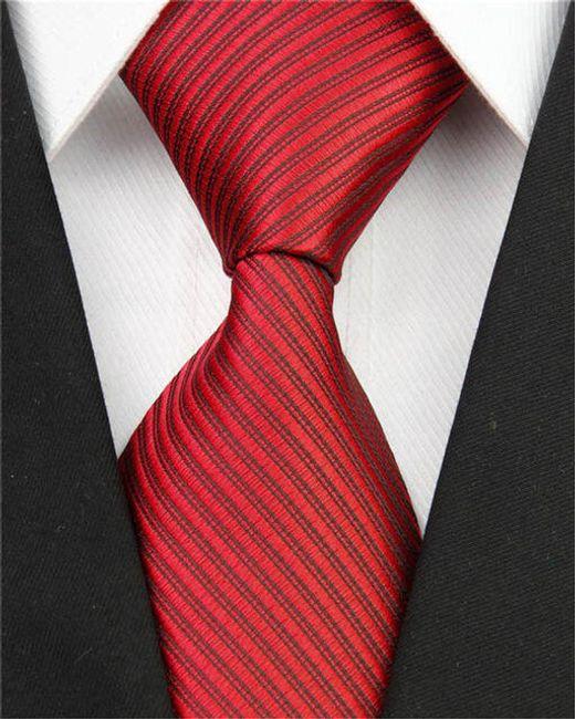 Csíkozott férfi nyakkendő - 11 szín