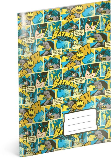 Iskola füzet Batman sz.444 - 5 db 1