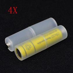Adaptor pentru baterie - AAA / AA - 4 buc