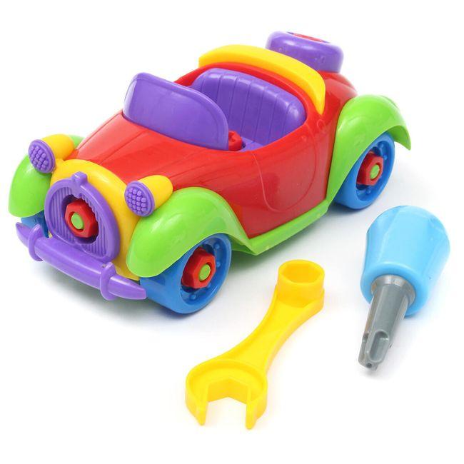 Машинка-конструктор с инструментами 1