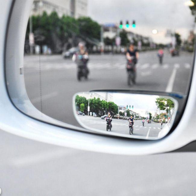 Bezbednosna ogledala za praćenje mrtvog ugla - 2 komada 1
