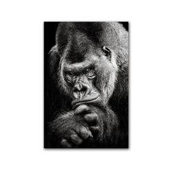 Imagine pe pânză fără ramă - gorilă WQ5