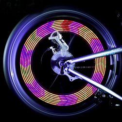 Światło LED zmieniające kolory na szprychy rowerowe