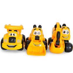 Sada 3 dětských autíček