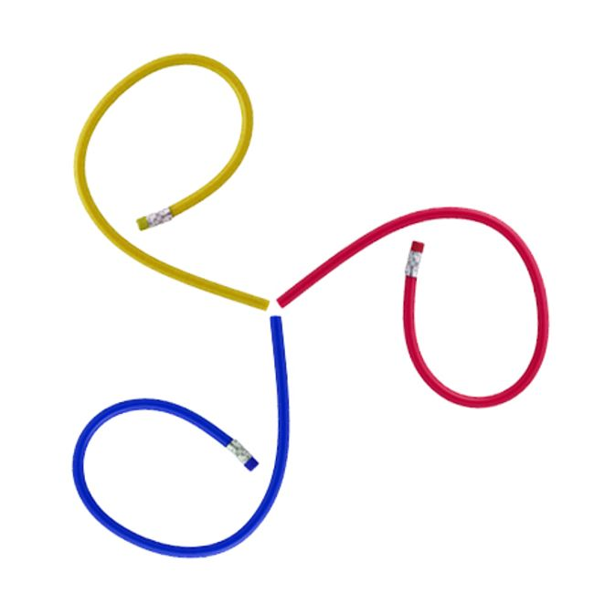 Fleksibilna olovka u tri boje 1