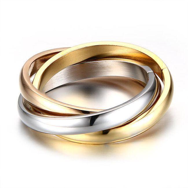 Trojitý prstýnek - 2 varianty 1