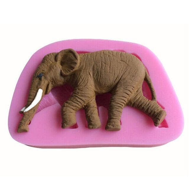 3D mini kalup v obliki slona 1