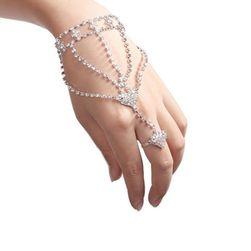 Ženska narukvica sa prstenom B010298