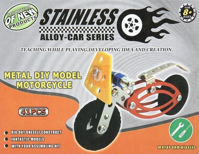 Stavebnice modelu motocyklu 1