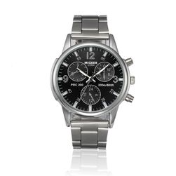 Muški sat luksuznog izdanja sa crnim brojčanikom