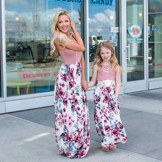 Šaty pro maminku a dceru Mab 1