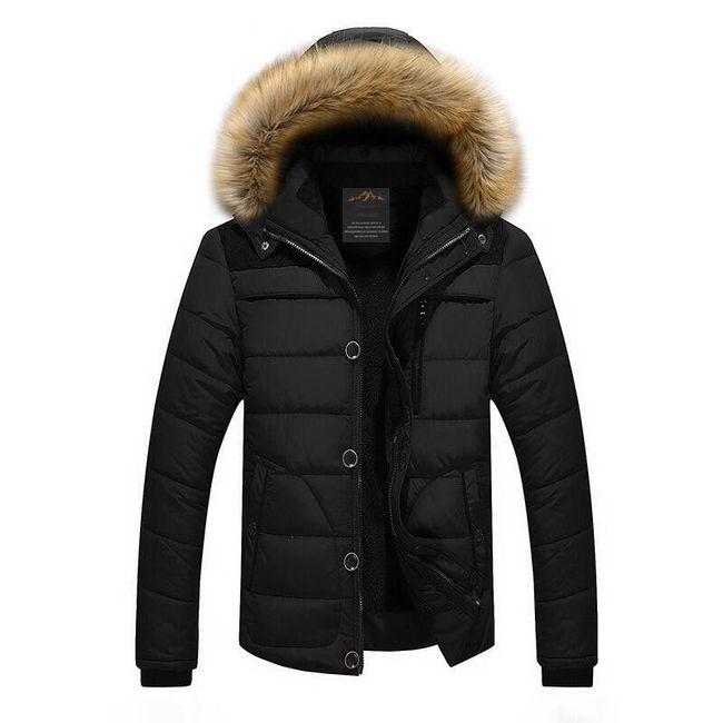 Pánská zimní bunda Oliver - Černá-XXXL 1
