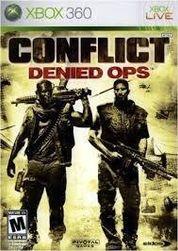 Játék (Xbox 360) Conflict: Denied Ops