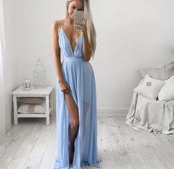 Dámské šaty se svůdným výstřihem - 4 barvy
