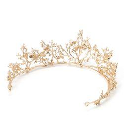 Női esküvői korona elf stílusban