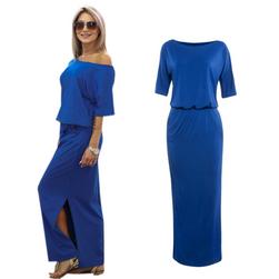 Női hosszú ruha Albertina - 4 szín