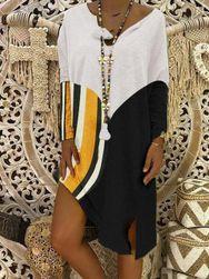 Ženska haljina sa dugačkim rukavima Josalyn