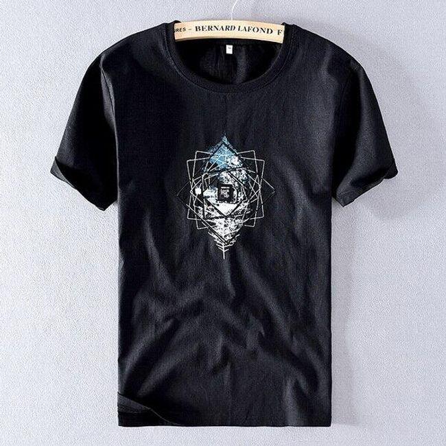 Męska koszulka z krótkim rękawem Al 1