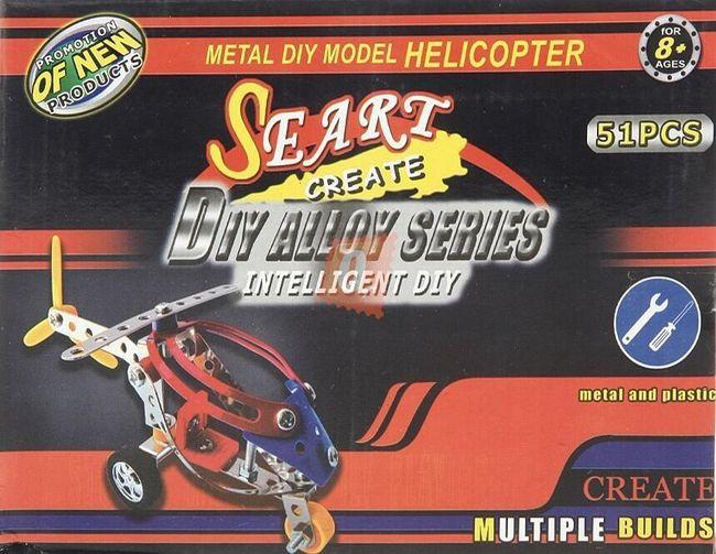 Stavebnice modelu helikoptéry 1