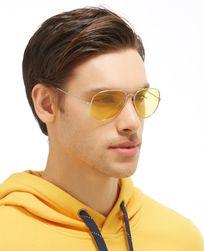 Polarizované sluneční brýle ve žluté barvě