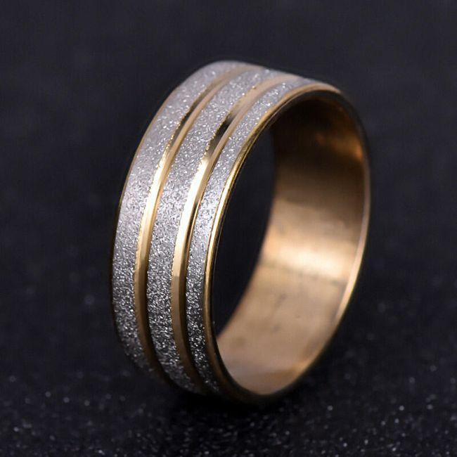 Dámský třpytivý prstýnek 1