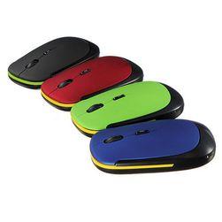Ultracienka, bezprzewodowa, mysz optyczna do wyboru z 4 kolorów