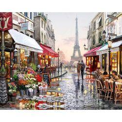 DIY slika sa brojevima - Pariz