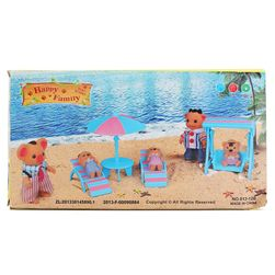 Nábytek pro panenky - dovolená na pláži