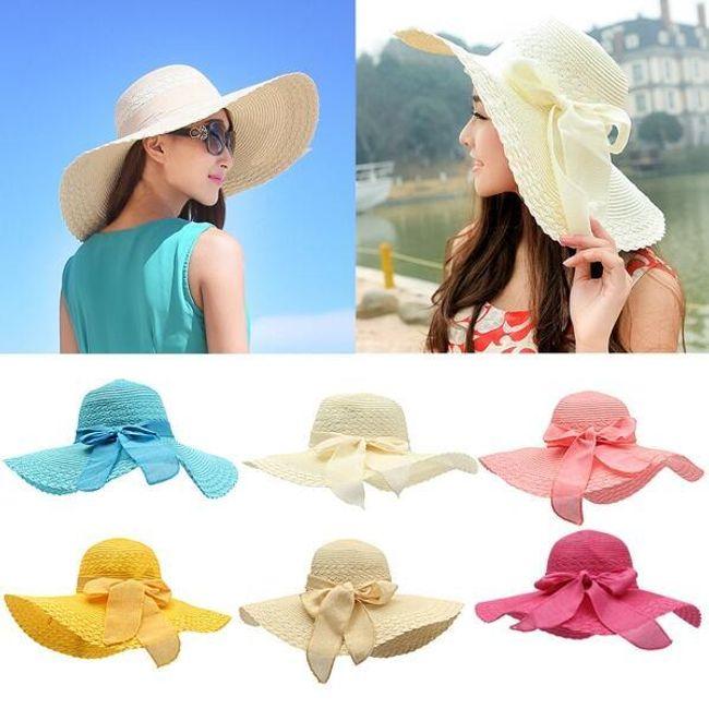 Женская широкополая шляпа 1