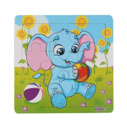 Puzzle pentru copii - elefant