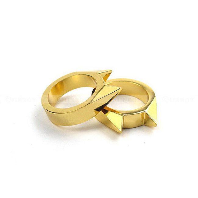 Sebeobranný prsten - 3 barevné varianty 1